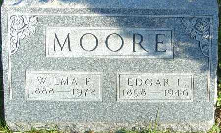 MOORE, EDGAR L - Franklin County, Ohio | EDGAR L MOORE - Ohio Gravestone Photos