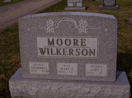 MOORE WILKERSON, MARY E. - Franklin County, Ohio | MARY E. MOORE WILKERSON - Ohio Gravestone Photos