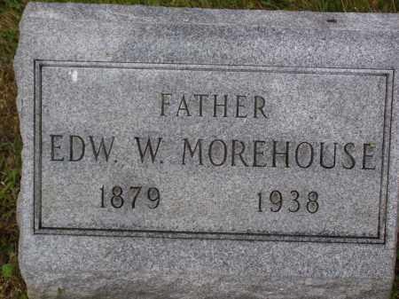 MOPREHOUSE, EDWARD W. - Franklin County, Ohio   EDWARD W. MOPREHOUSE - Ohio Gravestone Photos