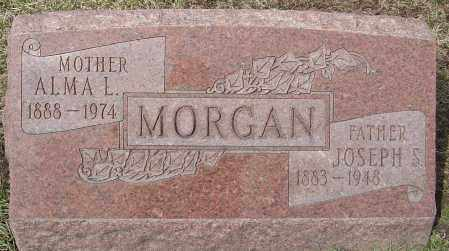 MORGAN, ALMA L - Franklin County, Ohio | ALMA L MORGAN - Ohio Gravestone Photos