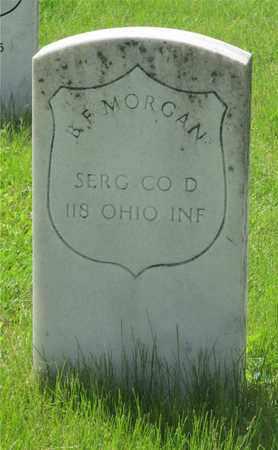 MORGAN, B. F. - Franklin County, Ohio   B. F. MORGAN - Ohio Gravestone Photos