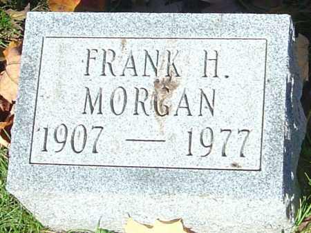 MORGAN, FRANK H - Franklin County, Ohio   FRANK H MORGAN - Ohio Gravestone Photos