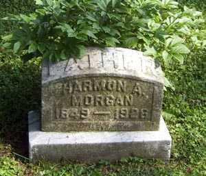 MORGAN, HARMON ASAPH - Franklin County, Ohio | HARMON ASAPH MORGAN - Ohio Gravestone Photos