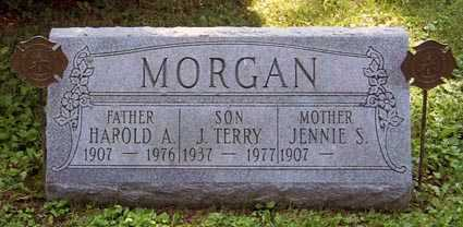 MORGAN, HAROLD ASHER - Franklin County, Ohio | HAROLD ASHER MORGAN - Ohio Gravestone Photos