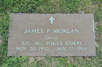 MORGAN, JAMES P - Franklin County, Ohio   JAMES P MORGAN - Ohio Gravestone Photos