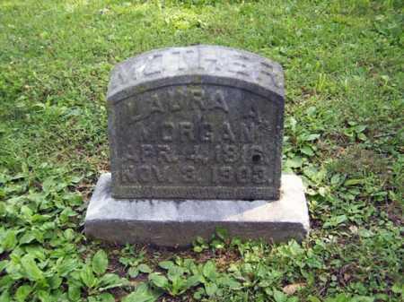 HOLT MORGAN, LAURA ANN - Franklin County, Ohio | LAURA ANN HOLT MORGAN - Ohio Gravestone Photos
