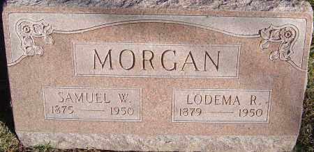 MORGAN, SANUEL W - Franklin County, Ohio | SANUEL W MORGAN - Ohio Gravestone Photos