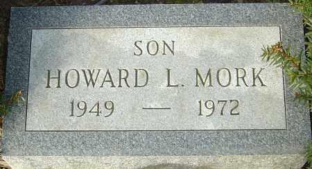 MORK, HOWARD L - Franklin County, Ohio | HOWARD L MORK - Ohio Gravestone Photos