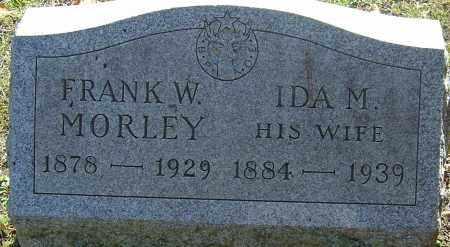 MORLEY, FRANK WALES - Franklin County, Ohio | FRANK WALES MORLEY - Ohio Gravestone Photos