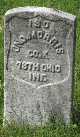 MORRIS, JNO. - Franklin County, Ohio | JNO. MORRIS - Ohio Gravestone Photos