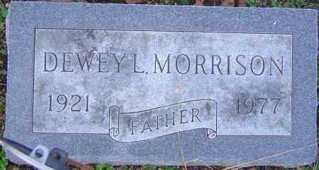MORRISON, DEWEY - Franklin County, Ohio   DEWEY MORRISON - Ohio Gravestone Photos