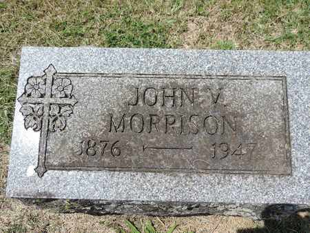 MORRISON, JOHN V. - Franklin County, Ohio | JOHN V. MORRISON - Ohio Gravestone Photos