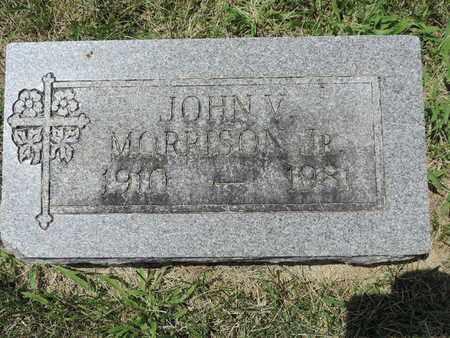 MORRISON, JOHN V. JR - Franklin County, Ohio   JOHN V. JR MORRISON - Ohio Gravestone Photos