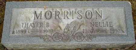 MORRISON, NELLIE - Franklin County, Ohio | NELLIE MORRISON - Ohio Gravestone Photos