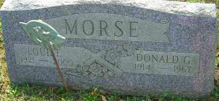 MORSE, LOUISE - Franklin County, Ohio | LOUISE MORSE - Ohio Gravestone Photos
