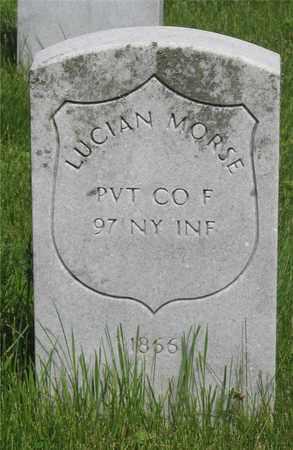 MORSE, LUCIAN - Franklin County, Ohio | LUCIAN MORSE - Ohio Gravestone Photos