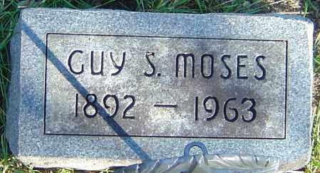 MOSES, GUY S - Franklin County, Ohio   GUY S MOSES - Ohio Gravestone Photos