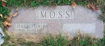 MOSS, HARRISON P. - Franklin County, Ohio | HARRISON P. MOSS - Ohio Gravestone Photos