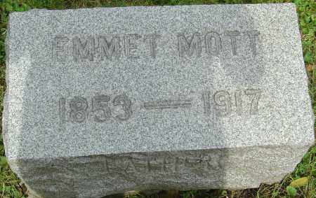 MOTT, EMMET - Franklin County, Ohio | EMMET MOTT - Ohio Gravestone Photos