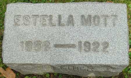 MOTT, ESTELLA - Franklin County, Ohio | ESTELLA MOTT - Ohio Gravestone Photos