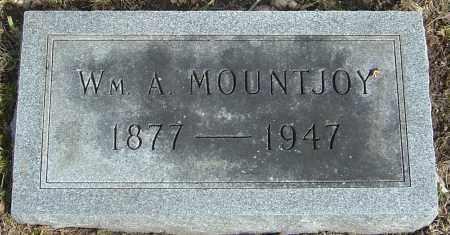 MOUNTJOY, WILLIAM A - Franklin County, Ohio | WILLIAM A MOUNTJOY - Ohio Gravestone Photos