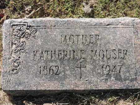 MOUSER, KATHERINE - Franklin County, Ohio | KATHERINE MOUSER - Ohio Gravestone Photos