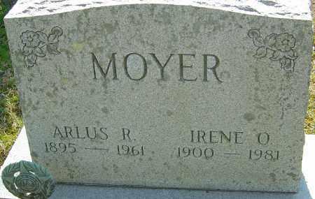 MOYER, IRENE O - Franklin County, Ohio | IRENE O MOYER - Ohio Gravestone Photos