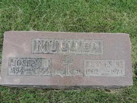 MUELLER, AGNES B. - Franklin County, Ohio | AGNES B. MUELLER - Ohio Gravestone Photos