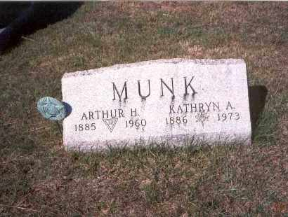 MUNK, KATHRYN A. - Franklin County, Ohio | KATHRYN A. MUNK - Ohio Gravestone Photos