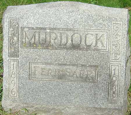 SAPP MURDOCK, FERN - Franklin County, Ohio | FERN SAPP MURDOCK - Ohio Gravestone Photos