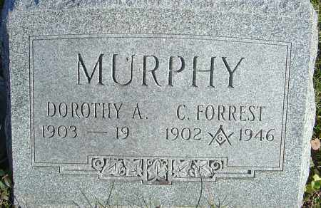 MURPHY, C FORREST - Franklin County, Ohio | C FORREST MURPHY - Ohio Gravestone Photos