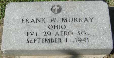 MURRAY, FRANK W - Franklin County, Ohio | FRANK W MURRAY - Ohio Gravestone Photos