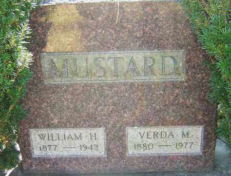 MUSTARD, WILLIAM HENRY - Franklin County, Ohio | WILLIAM HENRY MUSTARD - Ohio Gravestone Photos