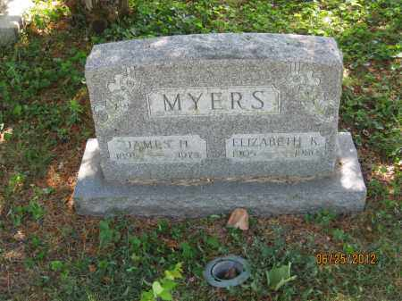 MYERS, ELIZABETH K - Franklin County, Ohio   ELIZABETH K MYERS - Ohio Gravestone Photos
