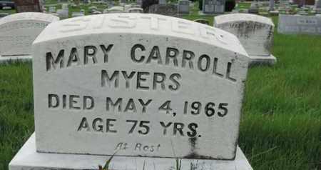 MYERS, MARY - Franklin County, Ohio | MARY MYERS - Ohio Gravestone Photos