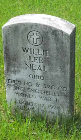 NEAL, WILLIE LEE - Franklin County, Ohio | WILLIE LEE NEAL - Ohio Gravestone Photos