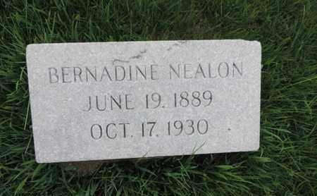 NEALON, BERNADINE - Franklin County, Ohio | BERNADINE NEALON - Ohio Gravestone Photos