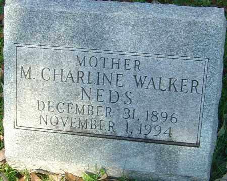NEDS, MARGARET CHARLINE - Franklin County, Ohio   MARGARET CHARLINE NEDS - Ohio Gravestone Photos