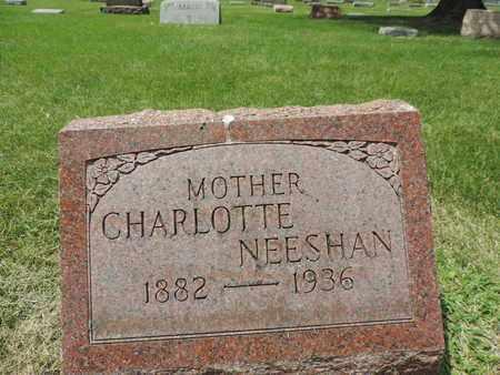 NEESHAN, CHARLOTTE - Franklin County, Ohio   CHARLOTTE NEESHAN - Ohio Gravestone Photos