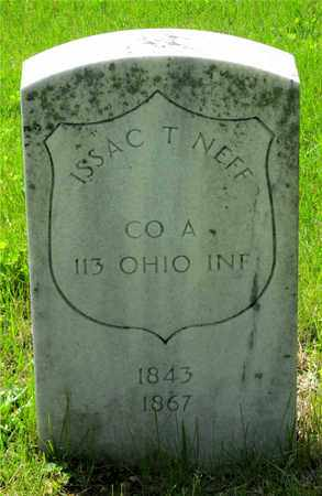 NEFF, ISSAC T. - Franklin County, Ohio | ISSAC T. NEFF - Ohio Gravestone Photos