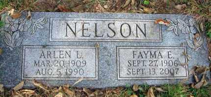 NELSON, FAYMA E. - Franklin County, Ohio   FAYMA E. NELSON - Ohio Gravestone Photos