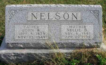 NELSON, JOHN W. - Franklin County, Ohio | JOHN W. NELSON - Ohio Gravestone Photos