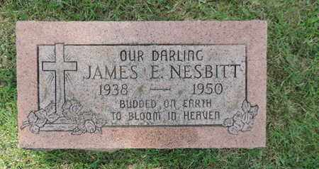 NESBITT, JAMES E. - Franklin County, Ohio | JAMES E. NESBITT - Ohio Gravestone Photos