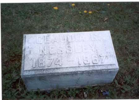 NESSLEY, CLAUDIA G. - Franklin County, Ohio | CLAUDIA G. NESSLEY - Ohio Gravestone Photos