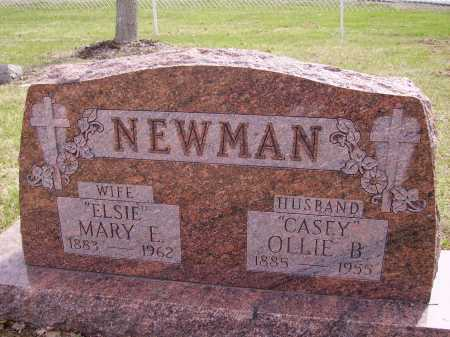 "NEWMAN, MARY E. ""ELSIE"" - Franklin County, Ohio | MARY E. ""ELSIE"" NEWMAN - Ohio Gravestone Photos"