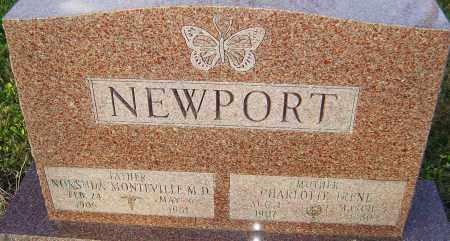 NEWPORT, CHARLOTTE - Franklin County, Ohio | CHARLOTTE NEWPORT - Ohio Gravestone Photos
