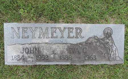 NEYMEYER, IVA C - Franklin County, Ohio | IVA C NEYMEYER - Ohio Gravestone Photos