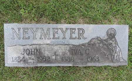 NEYMEYER, JOHN - Franklin County, Ohio | JOHN NEYMEYER - Ohio Gravestone Photos