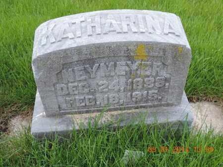 NEYMEYER, KATHARINA - Franklin County, Ohio   KATHARINA NEYMEYER - Ohio Gravestone Photos