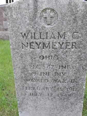 NEYMEYER, WILLIAM C. - Franklin County, Ohio   WILLIAM C. NEYMEYER - Ohio Gravestone Photos